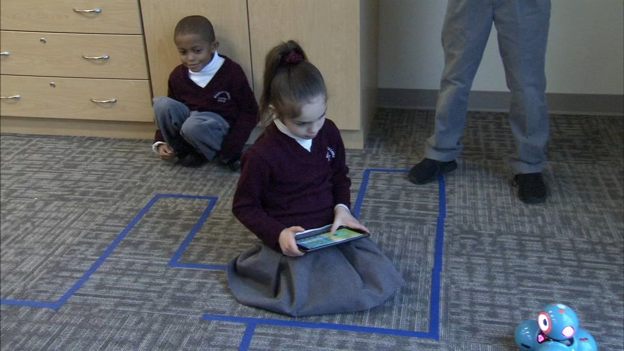 The Idea Box encourages future engineers in grades K through 8th to explore new technology as reported during Action News at 4 on December 14, 2018.