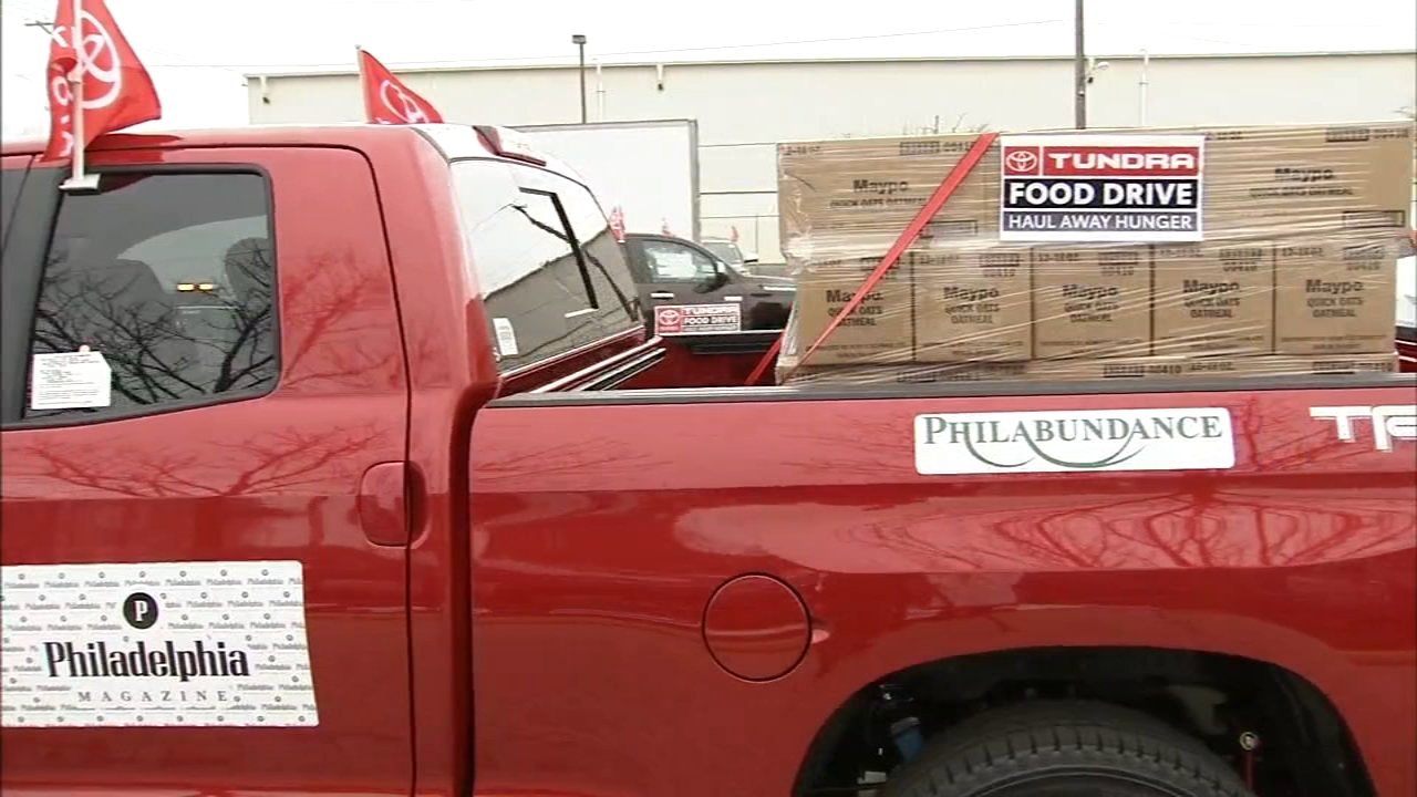 Philabundance, Toyota team up to Haul Away Hunger: Jeannette Reyes reports during Action News at 12:30pm on December 14, 2018.