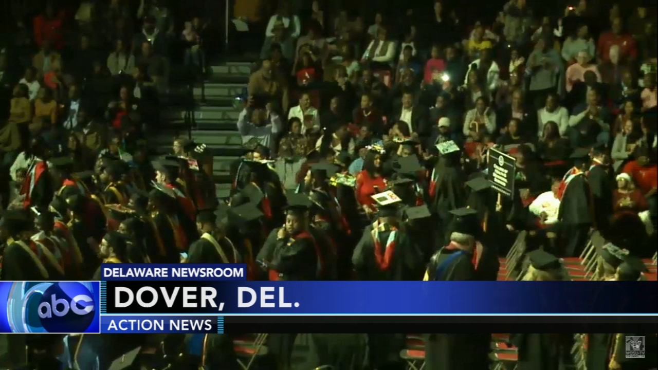 200 students graduate from Delaware State University. Walter Perez reports during Action News at 7 p.m. on December 15, 2018.
