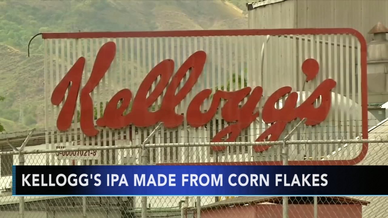 Kelloggs Corn Flake leftovers to be used to make beer. Gray Hall reports during Action News at 7 a.m. on December 15, 2018.