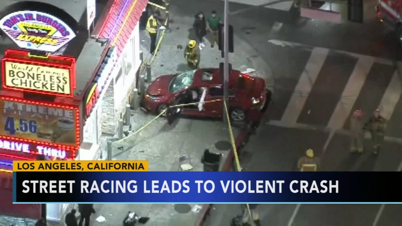 Street racer critically injures 2 young girls in Los Angeles. Gray Hall reports during Action News at 5 a.m. on December 15, 2018.