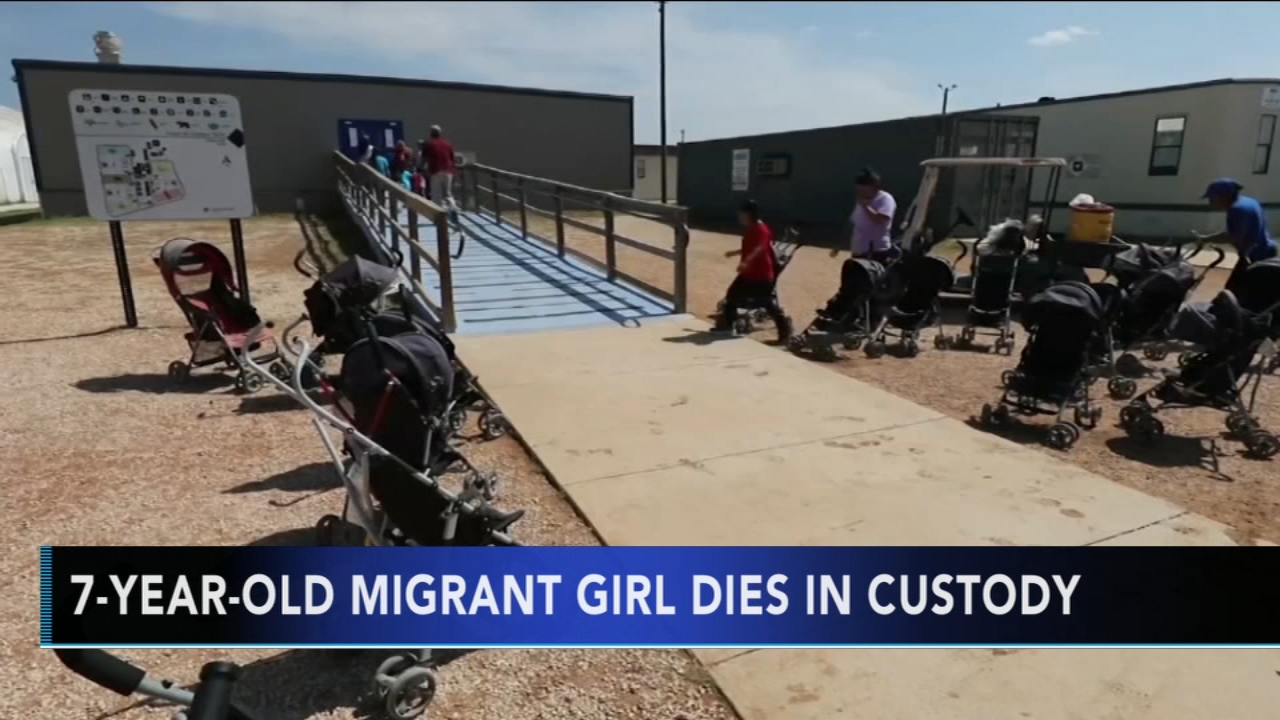 7-year-old migrant girl dies in border patrol custody. Gray Hall reports during Action News at 5 a.m. on December 15, 2018.