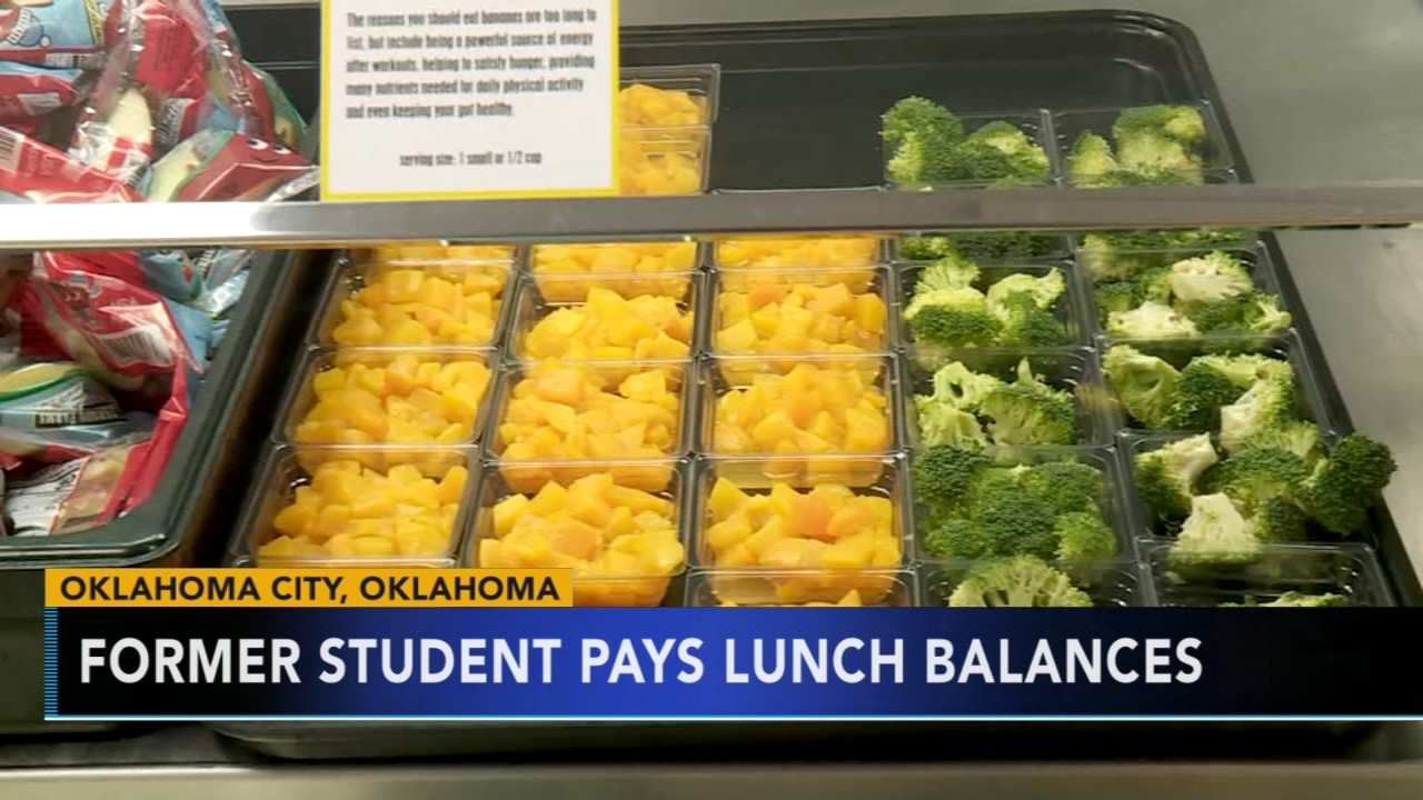 Man donates $10K to pay for student lunches at Oklahoma City school. Gray Hall reports during Action News at 7 a.m. on December 15, 2018.