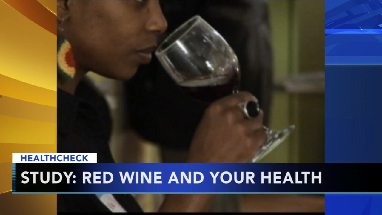 Study: A small glass of wine a day may help keep the doctor away. Gray Hall reports during Action News at 7 a.m. on December 15, 2018.