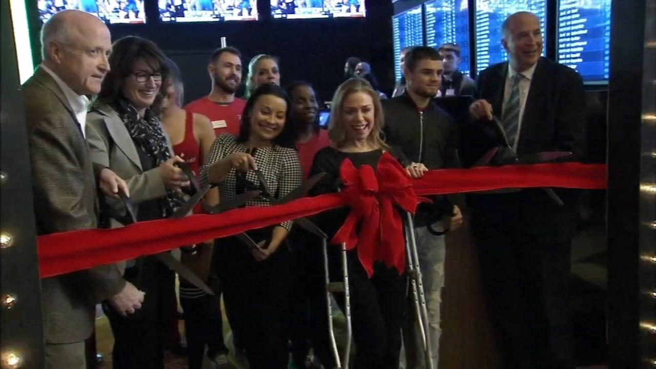 Sports betting begins at SugarHouse Casino in Philadelphia. Maggie Kent reports during Action News at 7 p.m. on December 15, 2018.