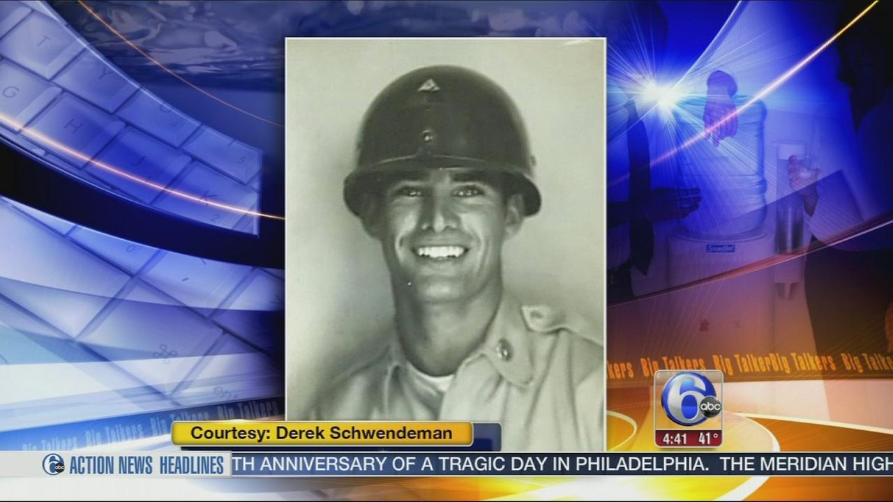VIDEO: Vintage photo of handsome local war vet going viral