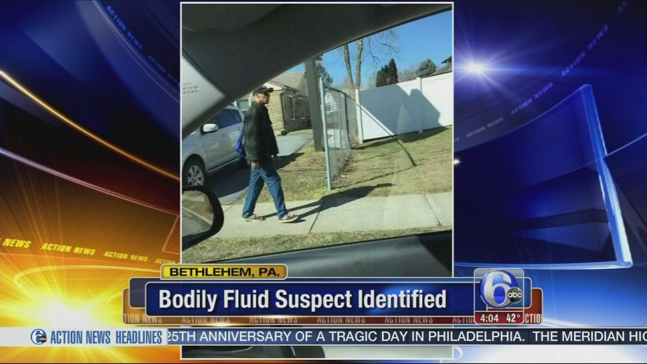 VIDEO: Police: Man who attacked woman with bodily fluid IDd