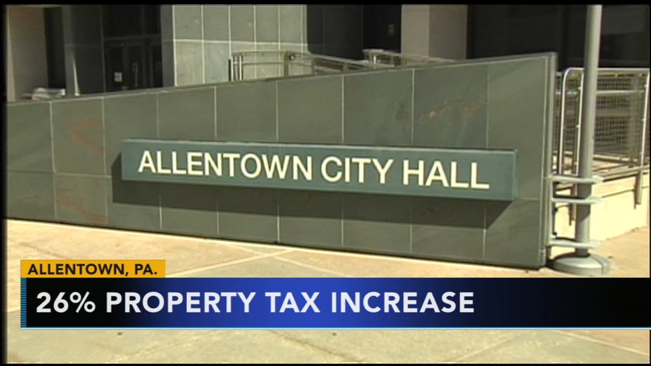 Allentown property owners facing possible tax hike in 2019. Nydia Han reports during Action News at 9 a.m. on December 16, 2018.