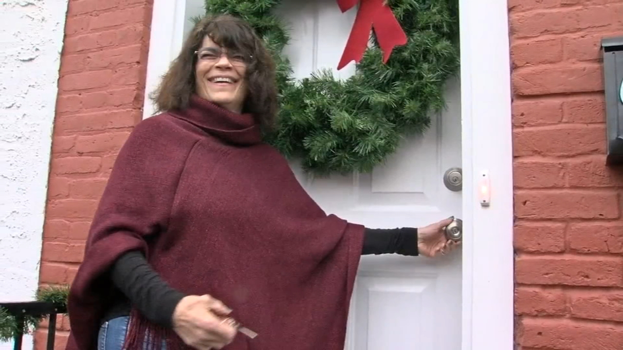 Cancer survivor receives home from Habitat for Humanity in Pottstown. Nydia Han reports during Action News at 7 a.m. on December 16, 2018.