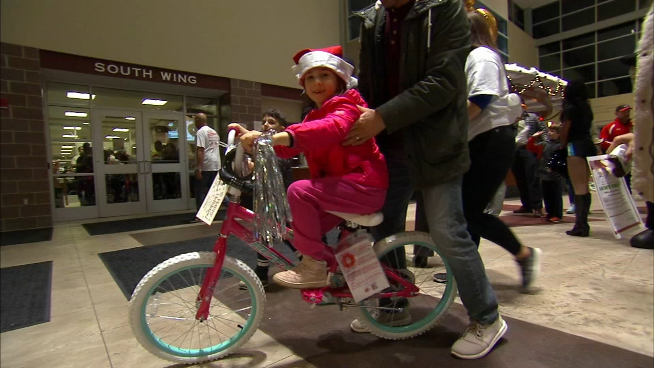 Jaws Youth Playbook hosts holiday bike drive for children in Camden. Jamie Apody reports during Action News at 6 a.m. on December 16, 2018.