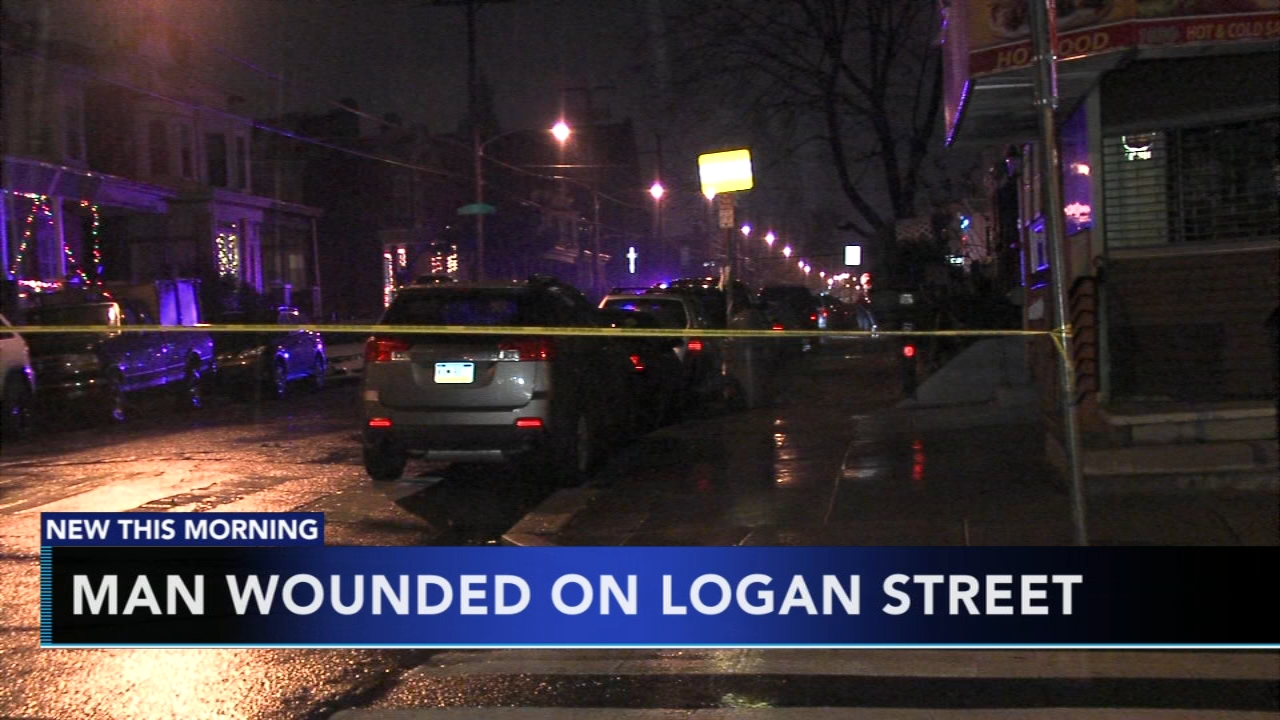 Man hospitalized after being shot in the neck in Logan. Gray Hall reports during Action News at 6 a.m. on December 16, 2018.