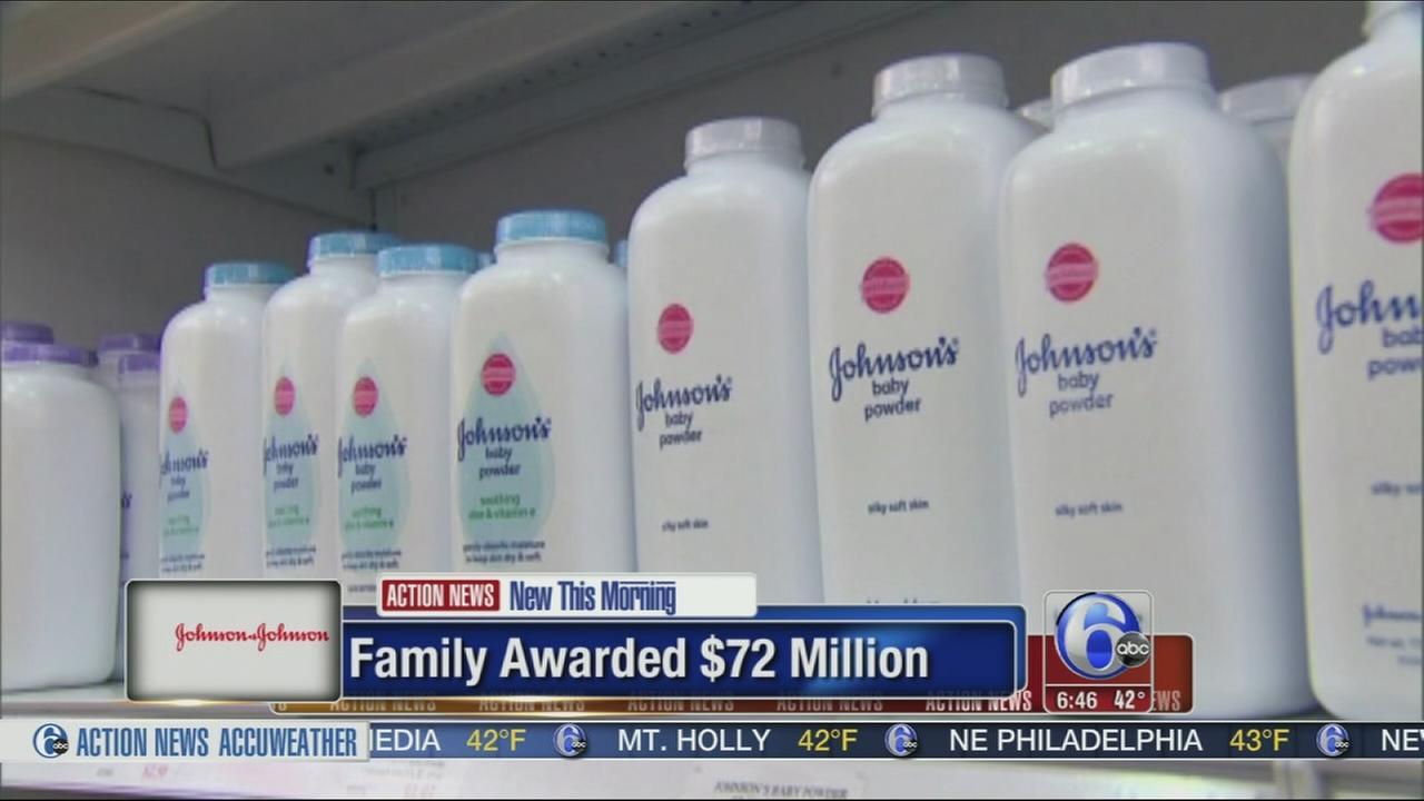 VIDEO: Missouri jury awards $72M in Johnson Johnson cancer suit