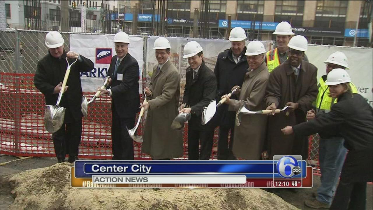 VIDEO: Breaking ground on new apts.