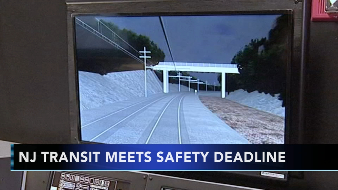 Murphy says NJ Transits meets safety equipment deadline: as seen on Action News at 4 p.m., December 17, 2018