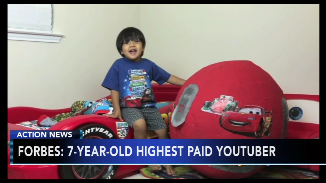 The highest-earning YouTube star in the world is an elementary school kid who reviews toys.