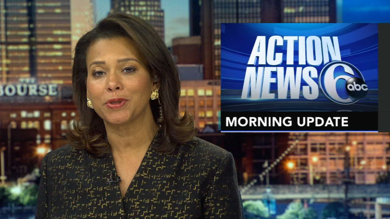 Tamala Edwards reports, and meteorologist Karen Rogers has the latest from AccuWeather, during the Action News Morning Update on December 18, 2018.