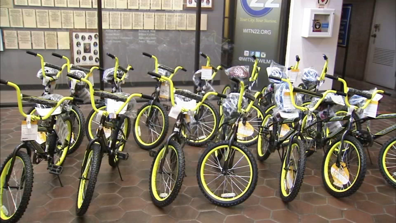 This is the 13th year Jacobs Consulting has hosted the bike giveaway to disadvantaged children as reported during Action News at 5 on December 18, 2018..