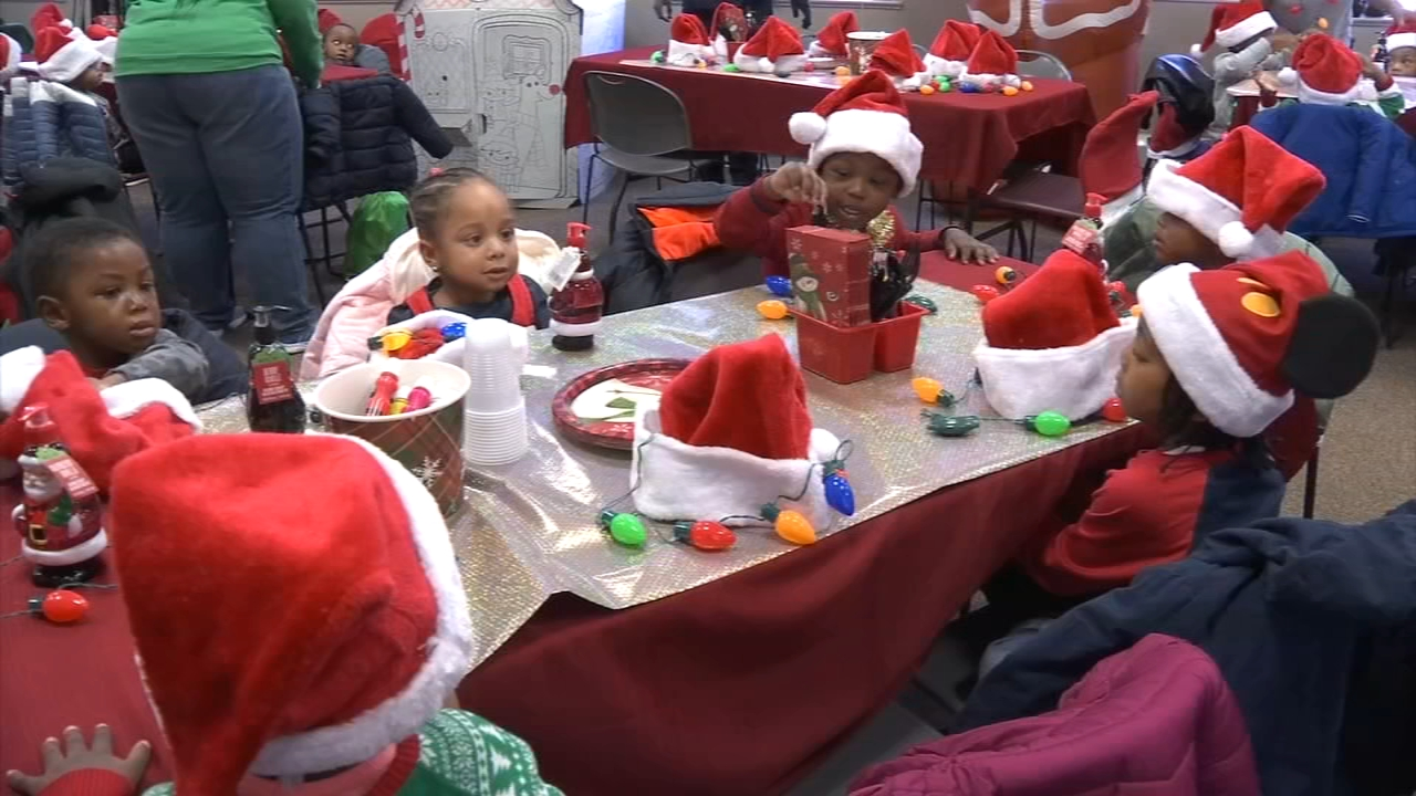 The Chester housing authority hosted this holiday party for some 40 under-privileged children as reported during Action News at 4 on December 18, 2018.