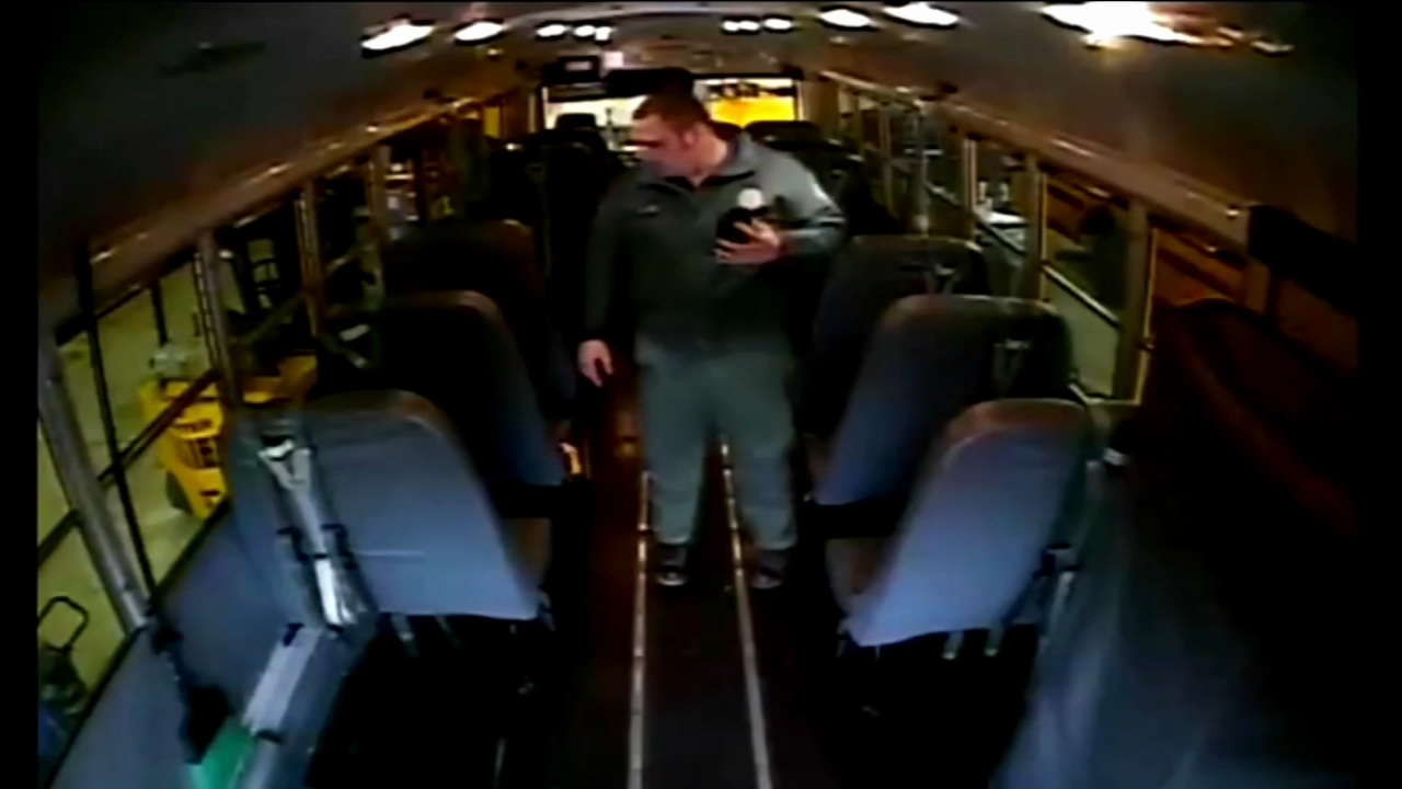Man inspecting school bus finds child. Matt ODonnell reports during Action News Mornings on December 18, 2018.