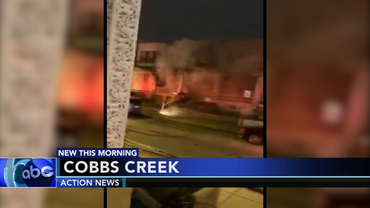 Fire breaks out in Cobbs Creek. Matt ODonnell reports during Action News Mornings on December 18, 2018.
