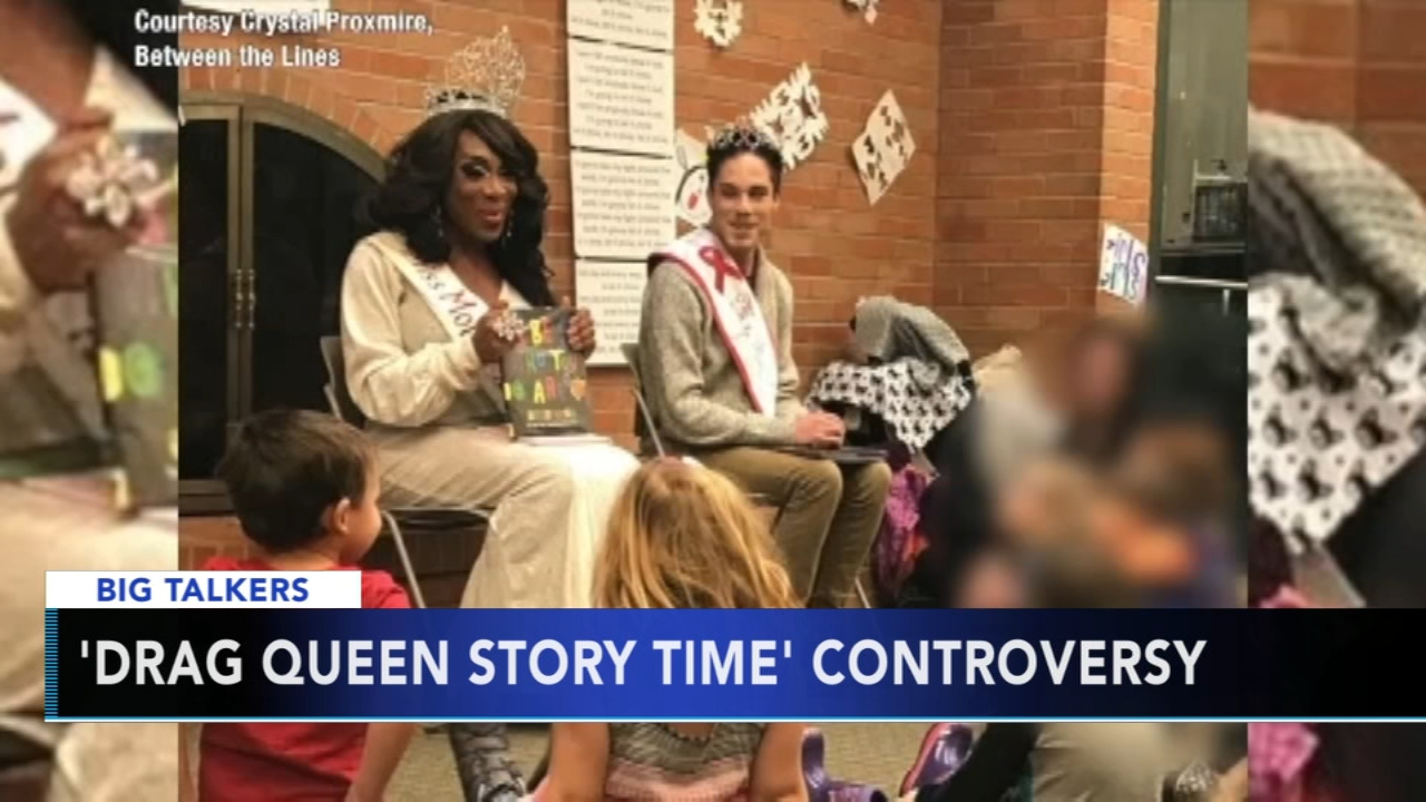 A reading program for kids at a local library in Michigan called Drag Queen Story Time is causing controversy.