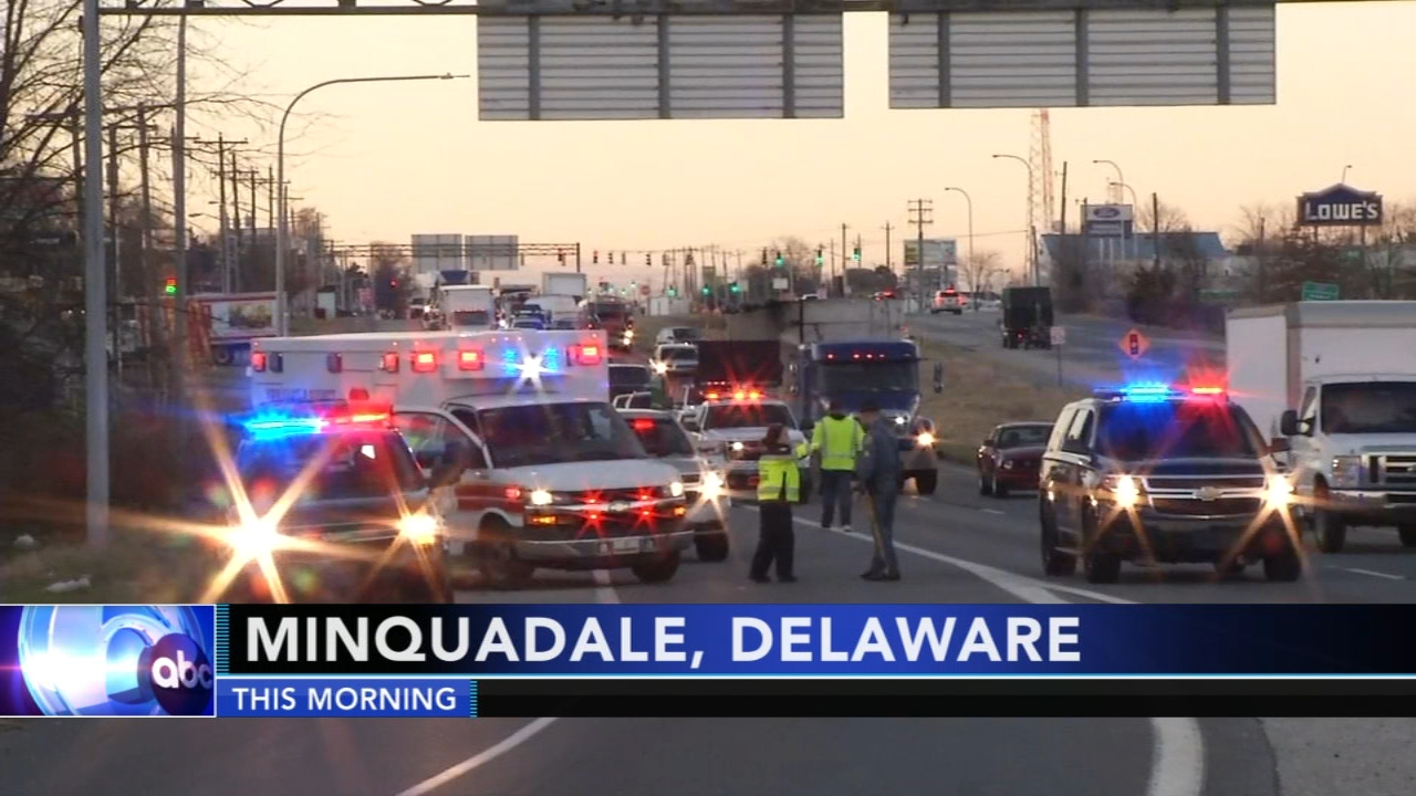 Woman struck and injured by vehicle in Delaware. Rick Williams reports during Action News at 12 p.m.  on December 18, 2018.