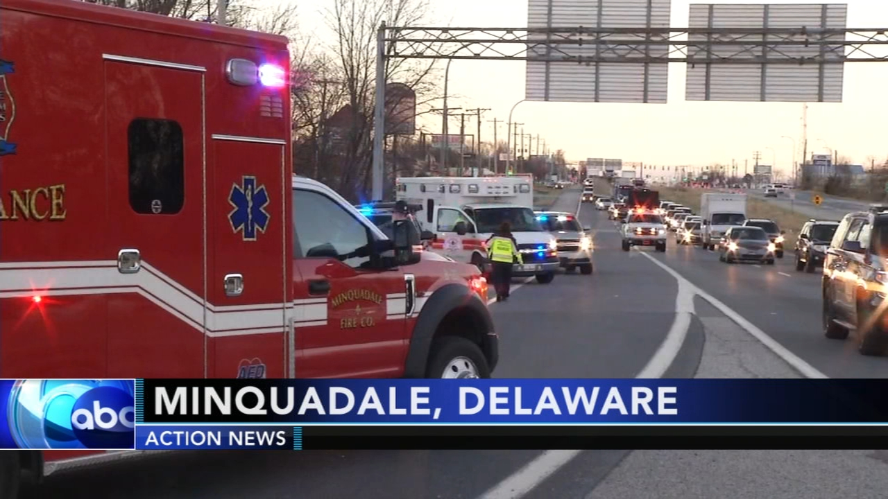Woman hit by car charged in accident in Delaware. Rick Williams reports during Action News at 5 p.m. on December 18, 2018.