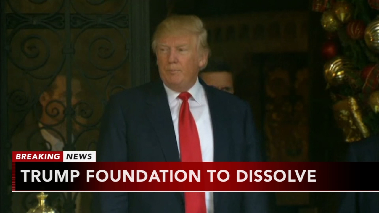 Trump Foundation to dssolve. Rick Williams reports during Action News at Noon on December 18, 2018.