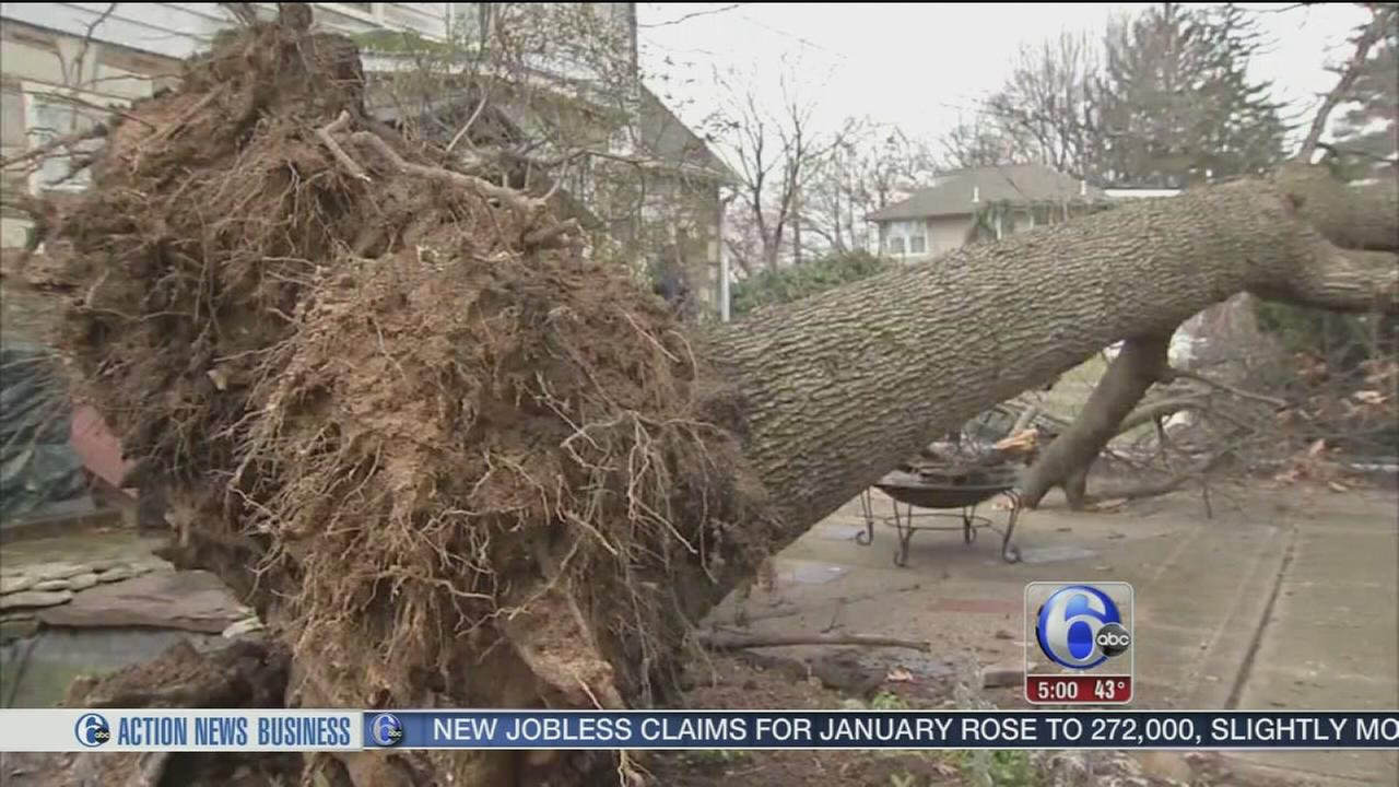 VIDEO: Cleanup in Horsham, Pa.