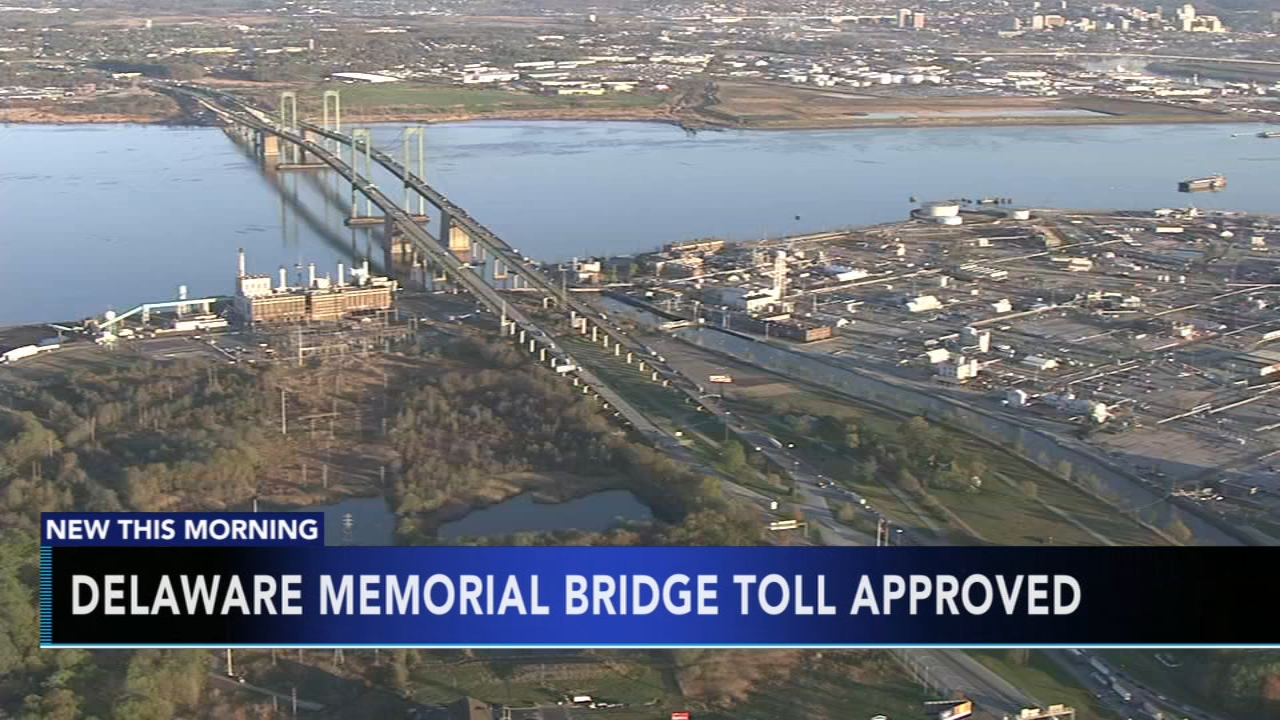 Delaware Memorial Bridge Toll approved. Matt ODonnell reports during Action News Mornings on December 19, 2018.