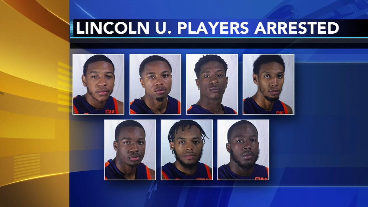 More than half of the Lincoln University mens basketball team was arrested as reported by Christie Ileto during Action News at 11 on Decemebr 19, 2018.