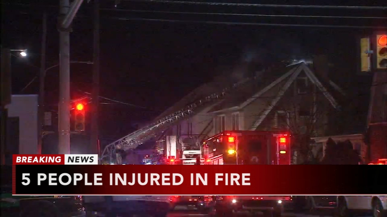 5 injured in Upper Darby fire. Katherine Scott reports during Action News Mornings on December 19, 2018.