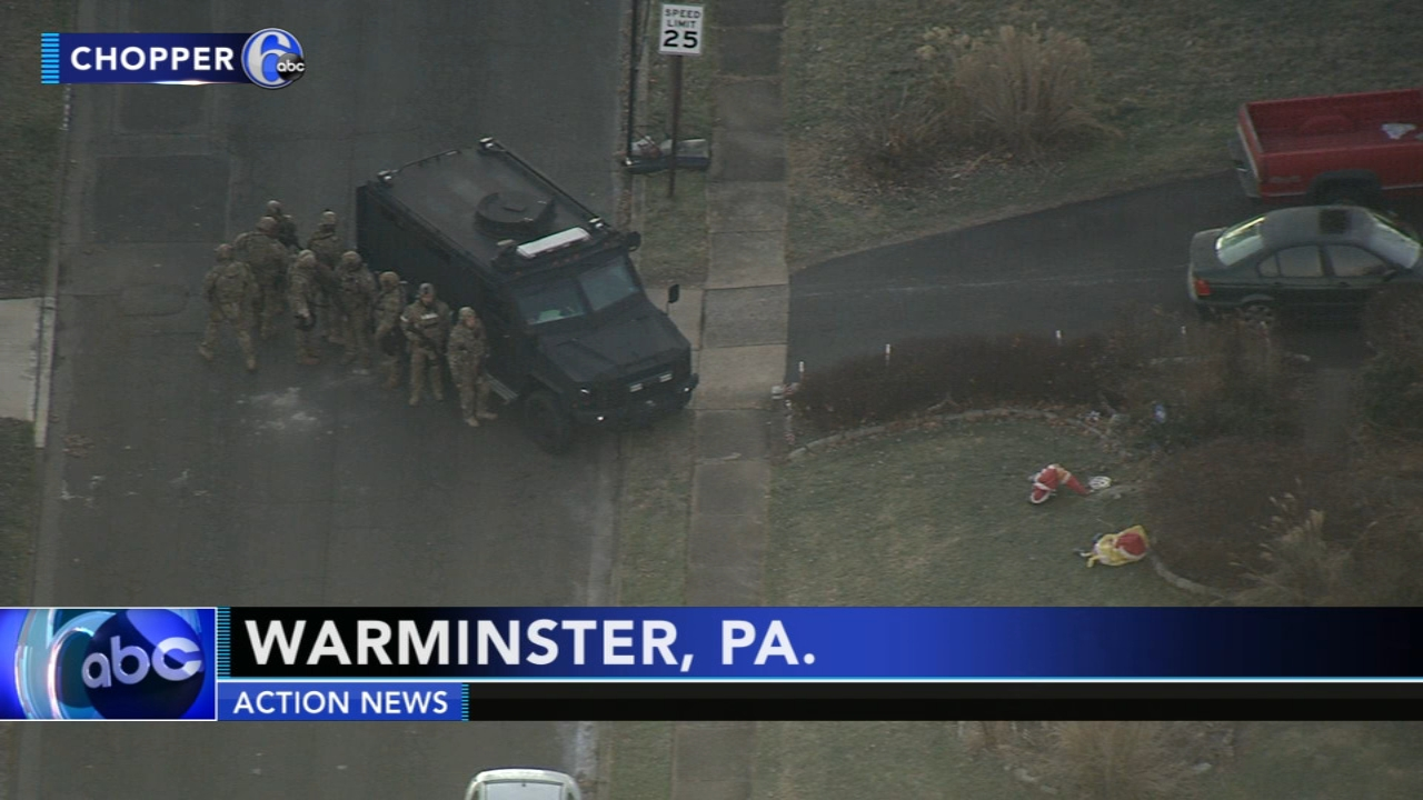 Police called to domestic issue in Warminster. Rick Williams reports during Action News at Noon on December 19, 2018.