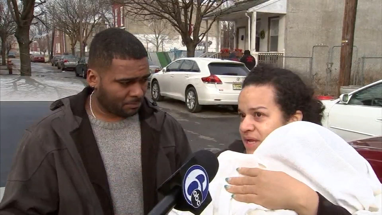 Father saves family, including baby, from Camden fire. John Rawlins reports during Action News at Noon on December 20, 2018.