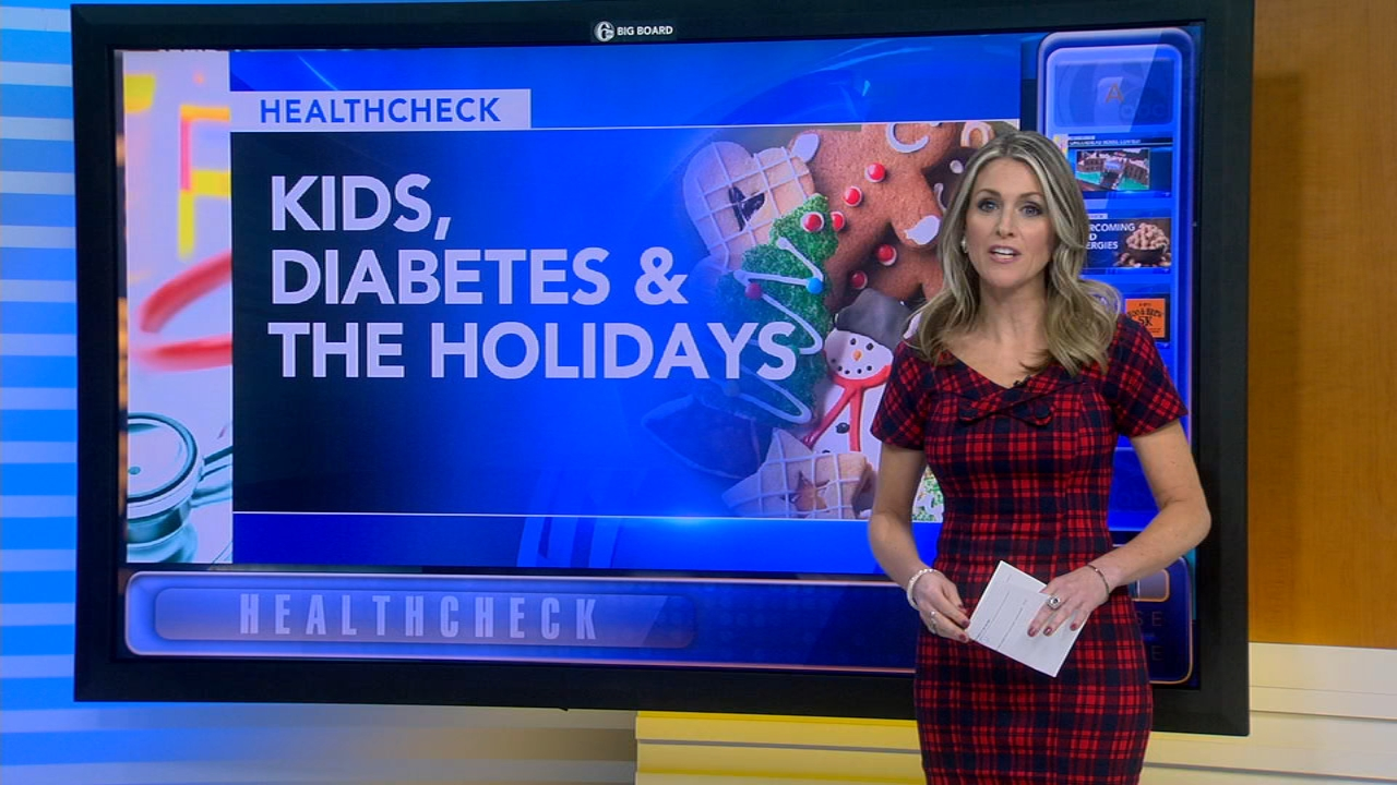 Managing childrens diabetes around holiday sweets and treats - Ali Gorman reports during Action News at 5pm on December 21, 2018.