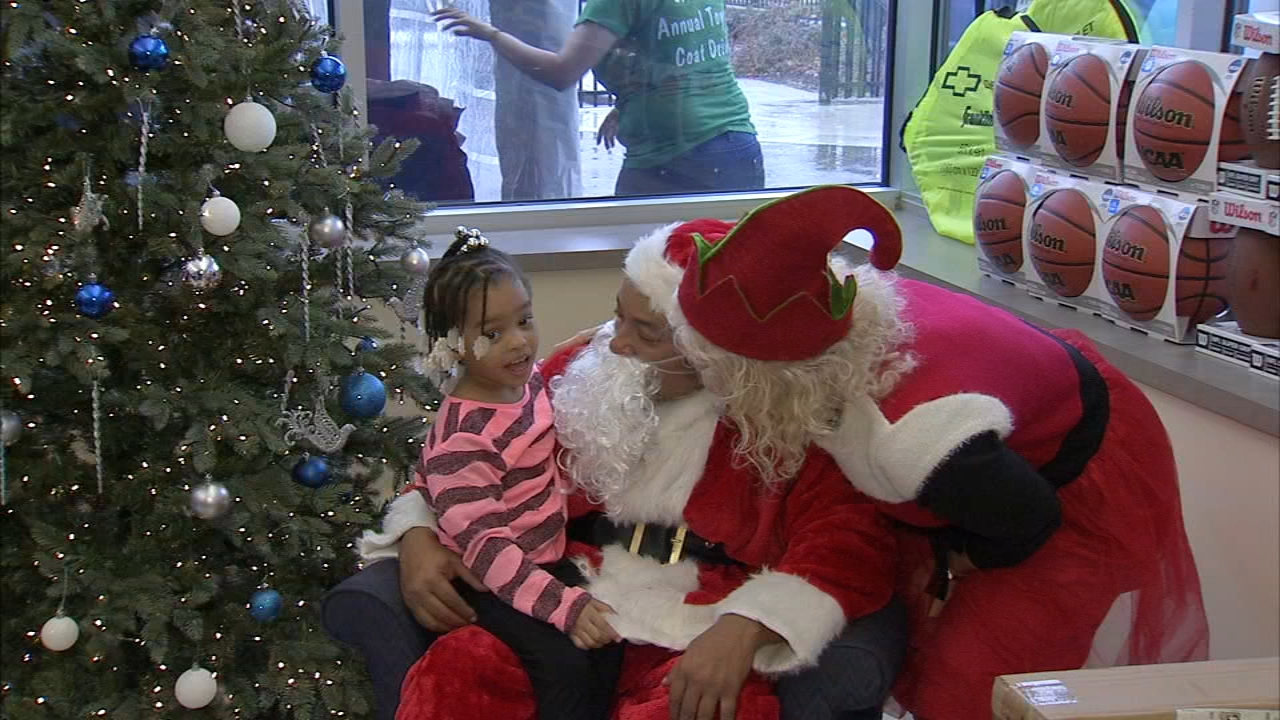 More than $25,000 dollars in new bikes, toys and coats were given out as reported during Action News at 4 on December 21, 2018.