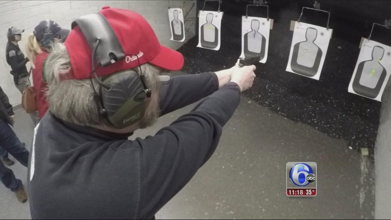 VIDEO: Gun training