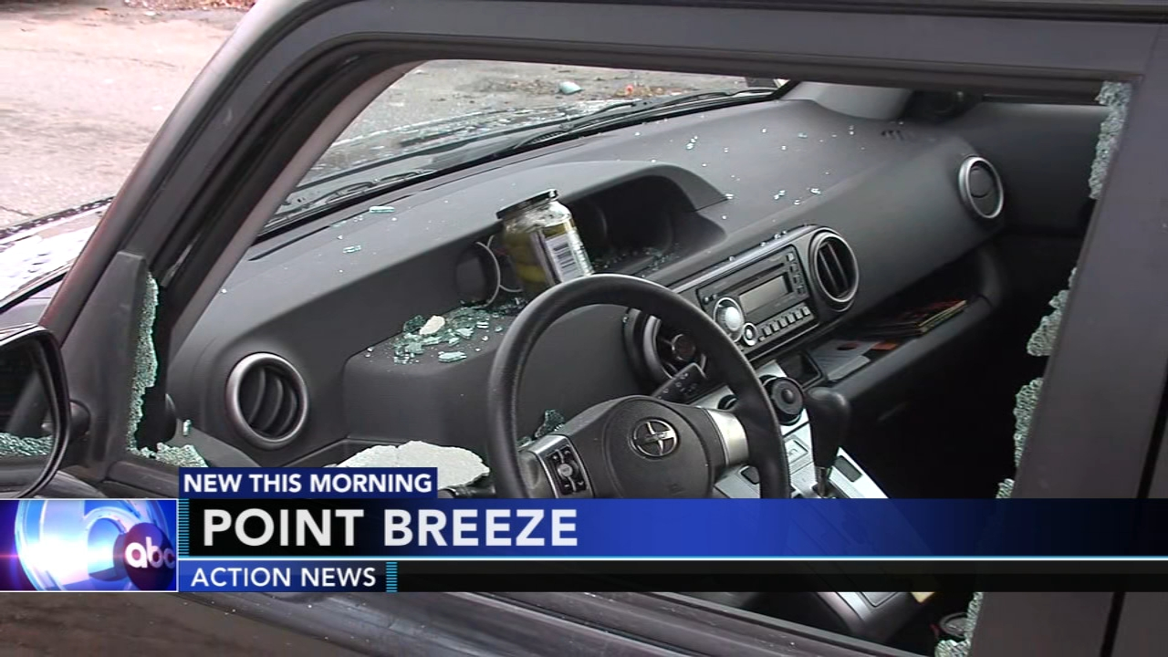 Vandal damages several cars in Point Breeze. Christie Ileto reports during Action News at 9 a.m. on December 22, 2018.