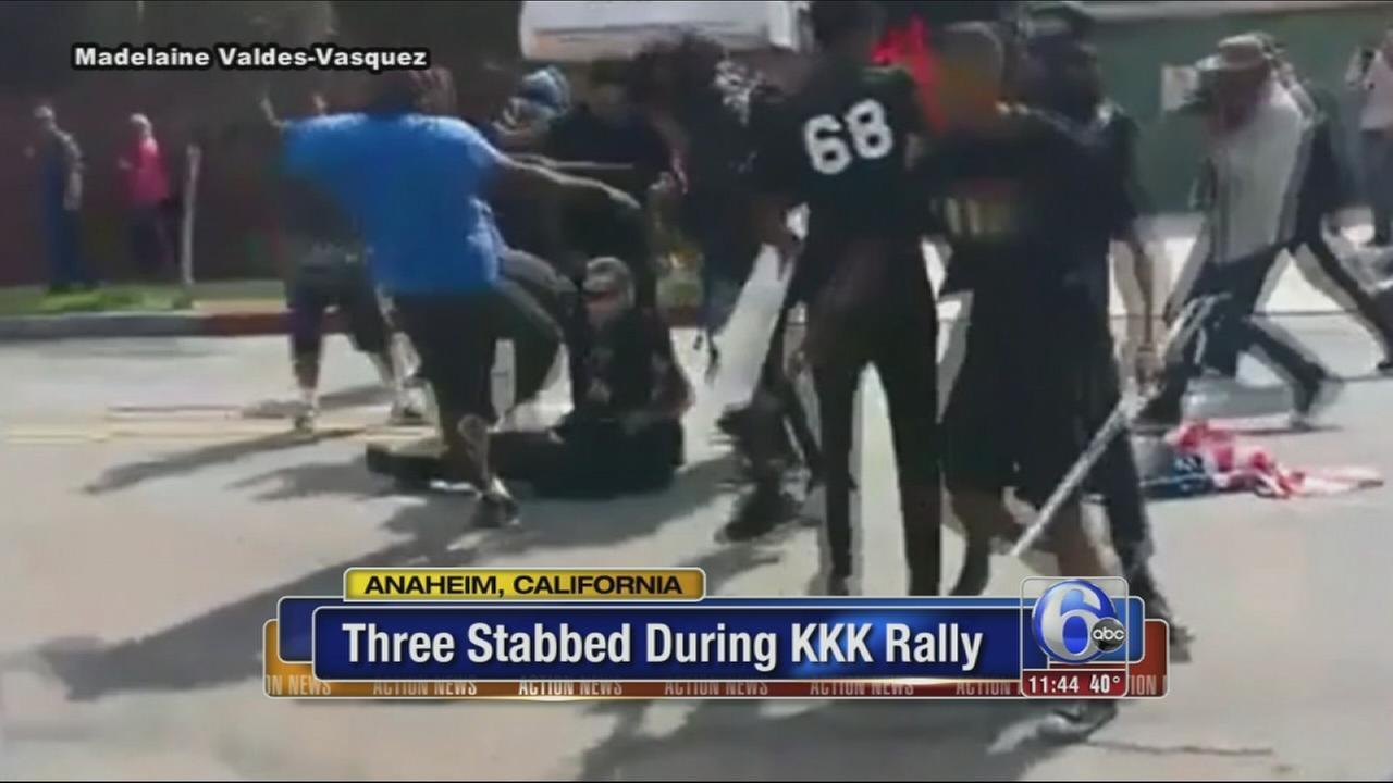 VIDEO: KKK stabbing