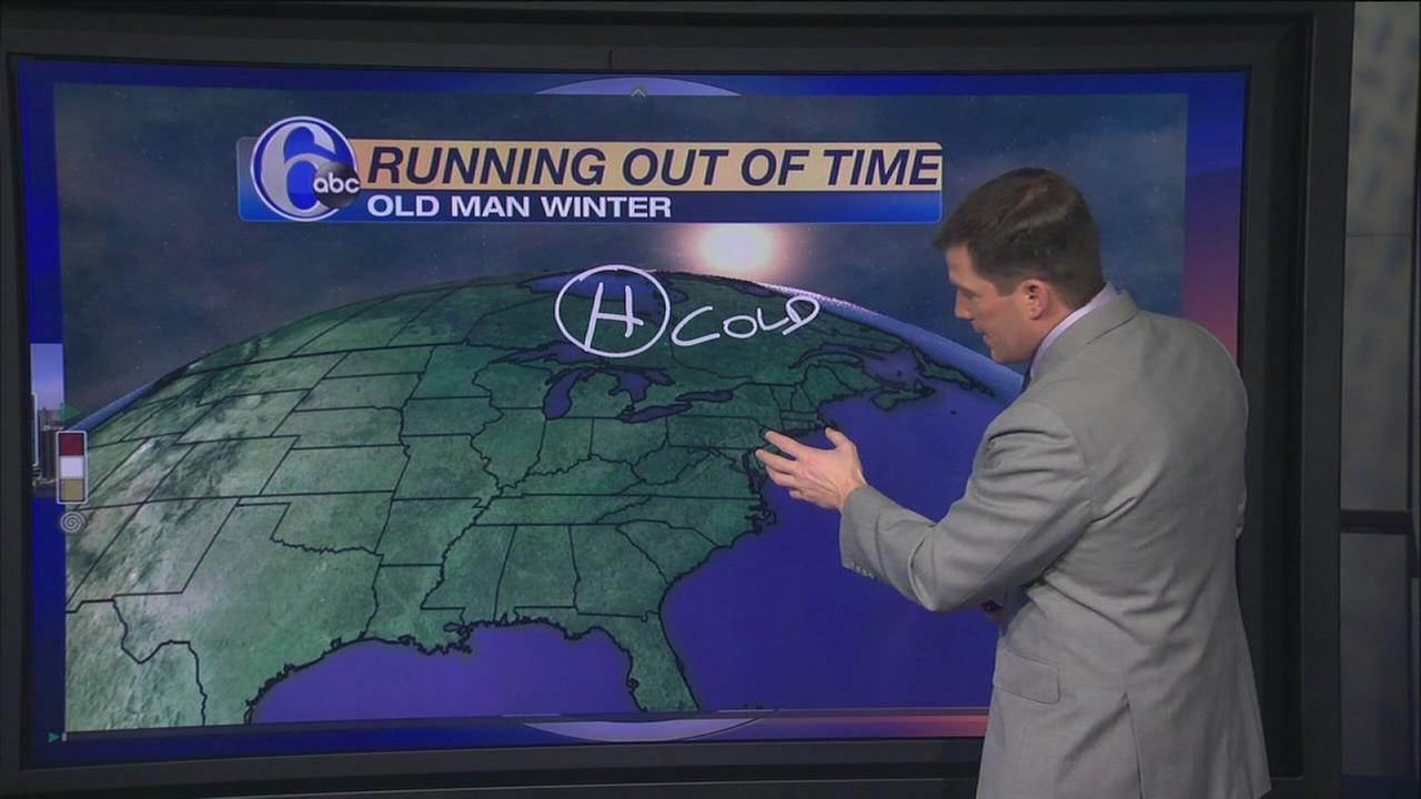 VIDEO: Old Man Winter running out of time