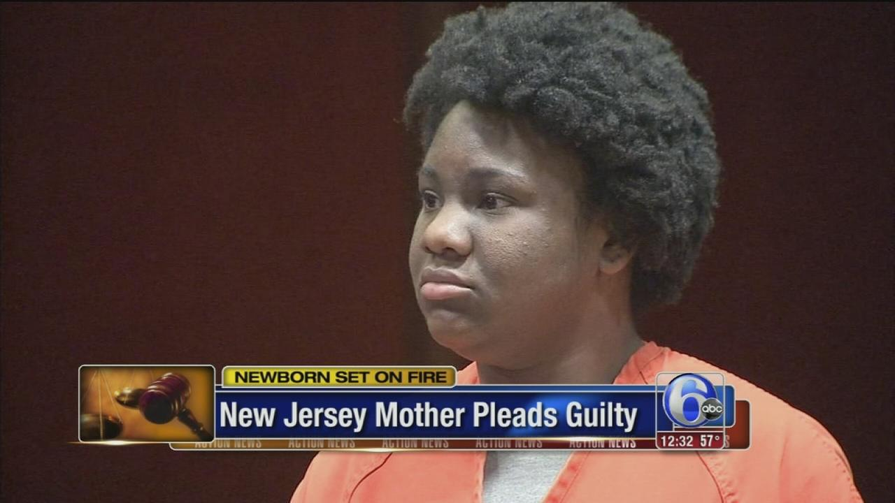 VIDEO: Mom pleads guilty to setting baby on fire in roadway