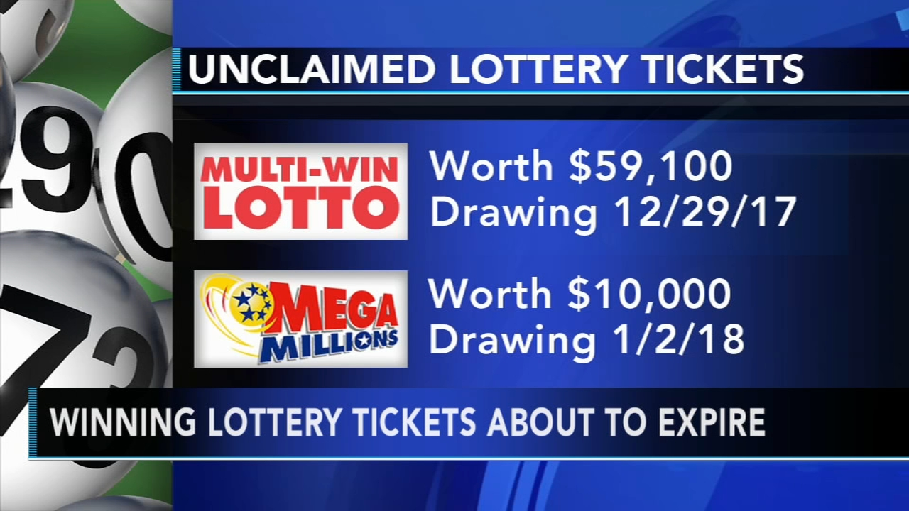 Delaware lottery prizes remain unclaimed, tickets about to expire. Brian Taff reports during Action News at 4 p.m. on December 27, 2018.