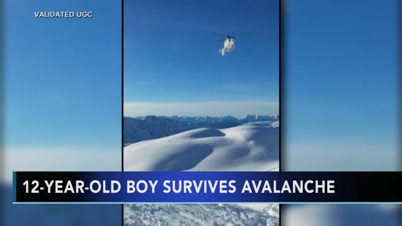 Boy survives being buried under avalanche for 40 minutes. Monica Malpass reports during Action News at 4 p.m. on December 28, 2018.