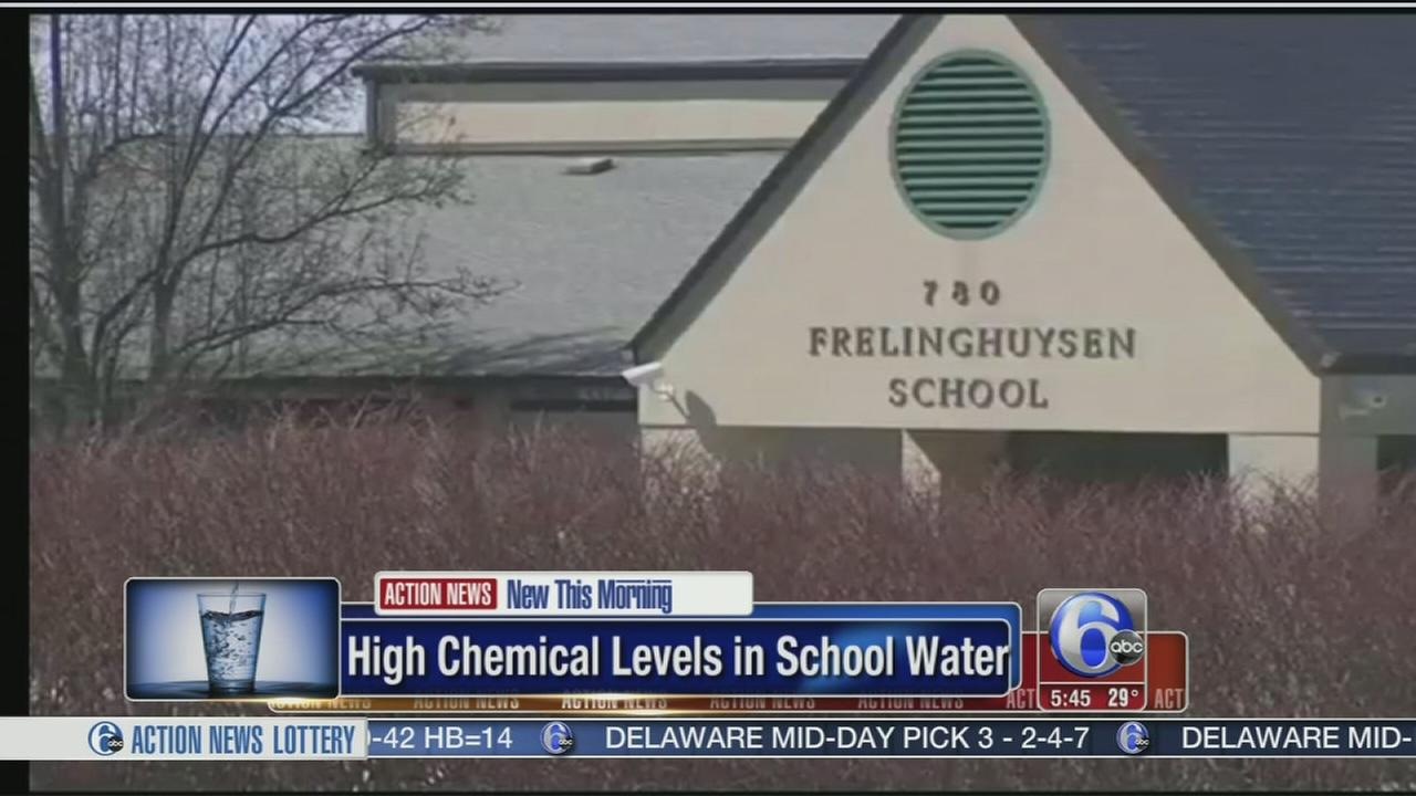VIDEO: High chemical levels found in school in NJ