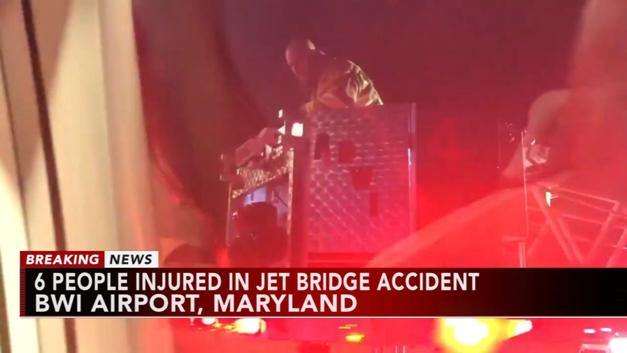6 people injured at BWI: As seen on Action News at 10 p.m., December 29, 2018