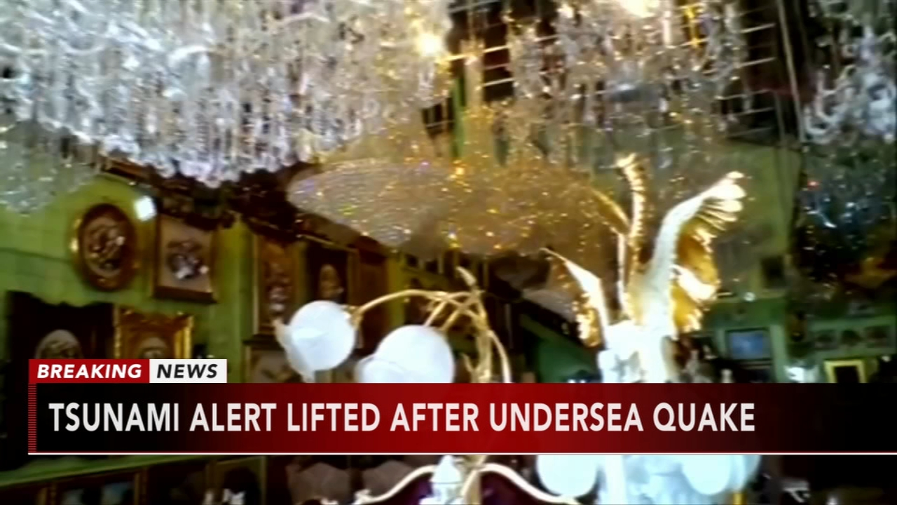 Tsunami alert lifted after undersea quake off Philippines. Gray Hall reports during Action News at 9 a.m. on December 29, 2018.