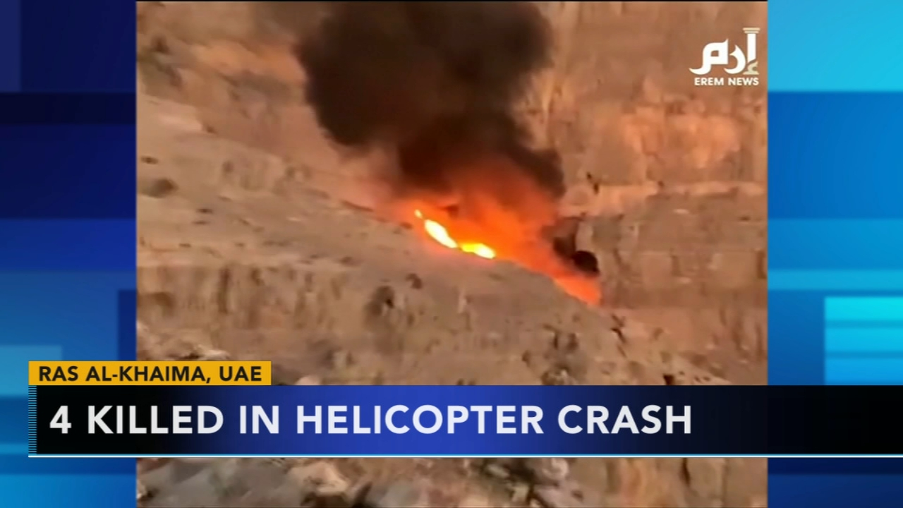 Helicopter crashes near worlds longest zip line in UAE. Gray Hall reports during Action News at 9 a.m. on December 30, 2018.