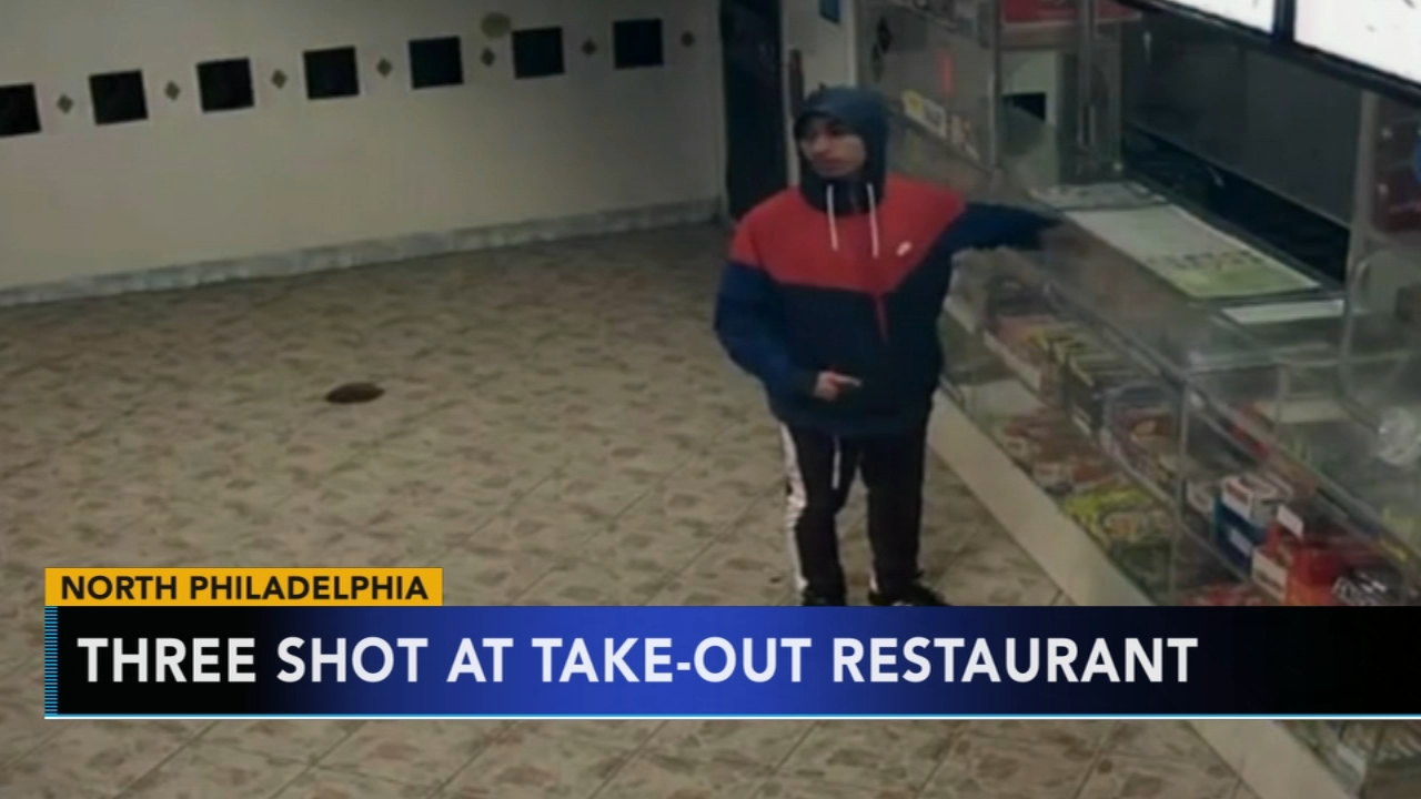 3 people shot inside Hunting Park restaurant. Sharrie Williams reports during Action News at 4 p.m. on December 31, 2018.