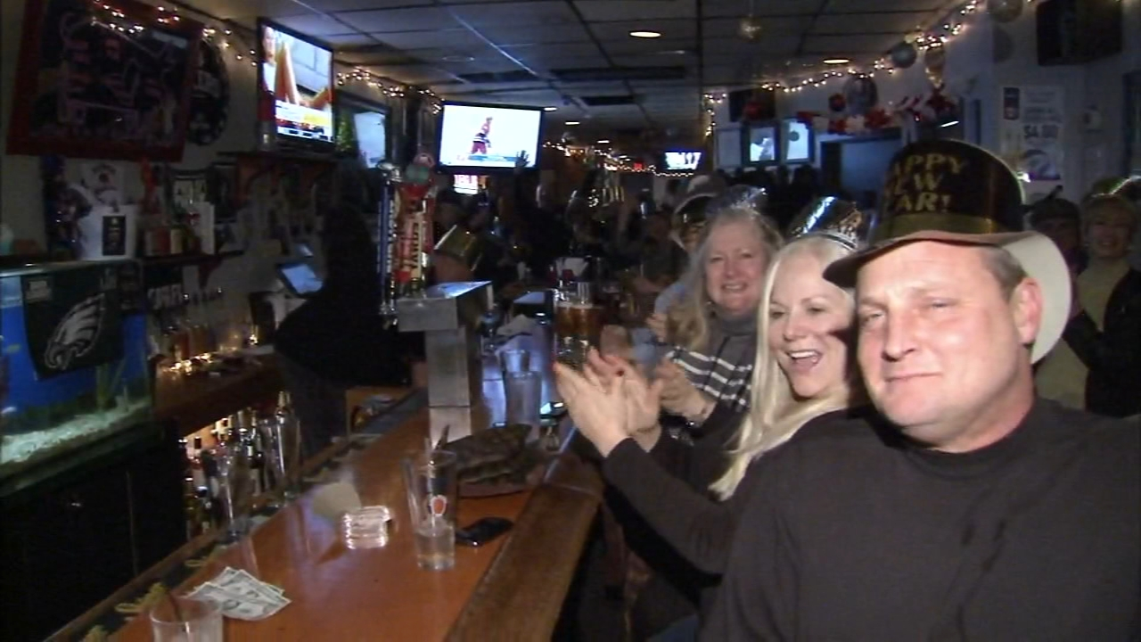 Folks party their way into the New Year. Trish Hartman reports during Action News at 11 p.m. on December 31, 2018.