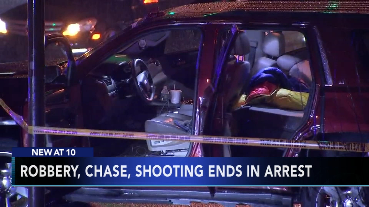 Police: Suspect arrested after allegedly firing shots at officers during chase. Brian Taff reports during Action News at 11 p.m. on December 31, 2018.